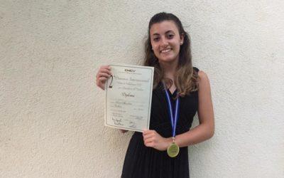 Elisa Cecchini – Concorso Internazionale per violino di Villafranca