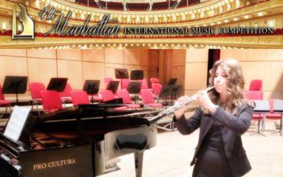 Fiamma Di Gennaro – 4th Manhattan International Music Competition di New York