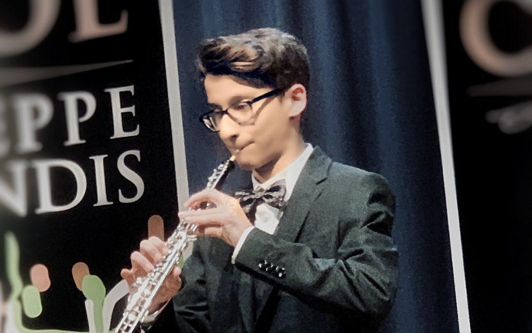 Jacopo Di Gennaro – V Concorso Internazionale per Giovani Oboisti