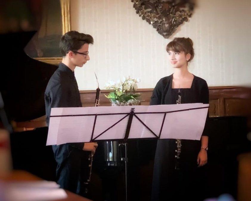 Fratelli Fiamma e Jacopo Di Gennaro – 31th European Music Competition Città di Moncalieri