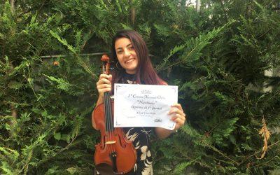 Elisa Cecchini I premio concorso Napolinova