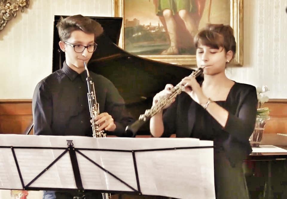 Oboe e corno inglese!